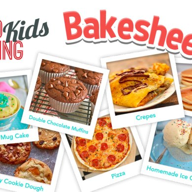 Kids Baking Activities with FREE Downloadable Worksheets