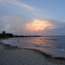 Playa am Abend