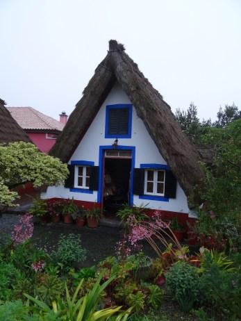 typisches Touristenhaus