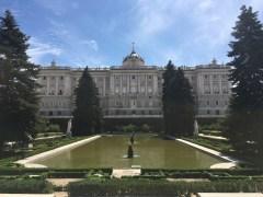 Palacio von hinten