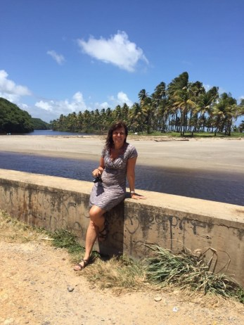 Lagune vor Palmenwald