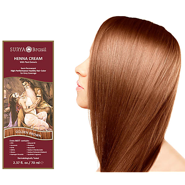 Surya Brasil Henna Cream Golden Brown