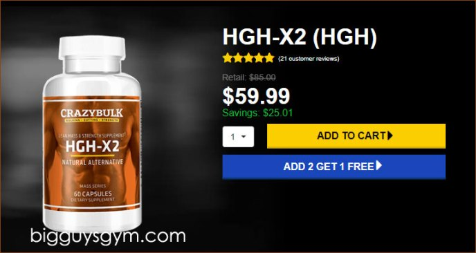 Order HGH-x2 from Official website