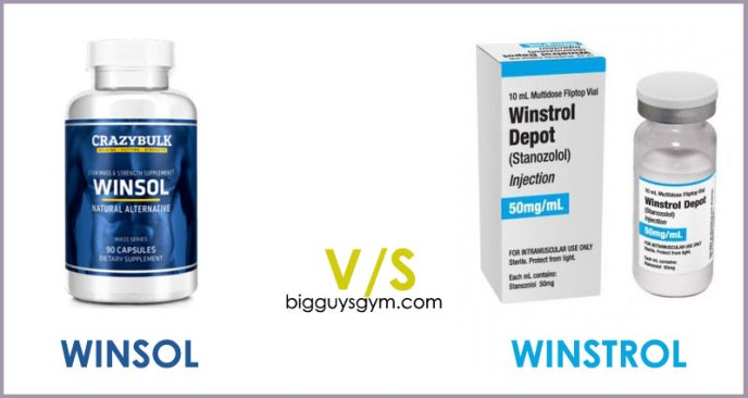 Winsol or Winstrol Steroids