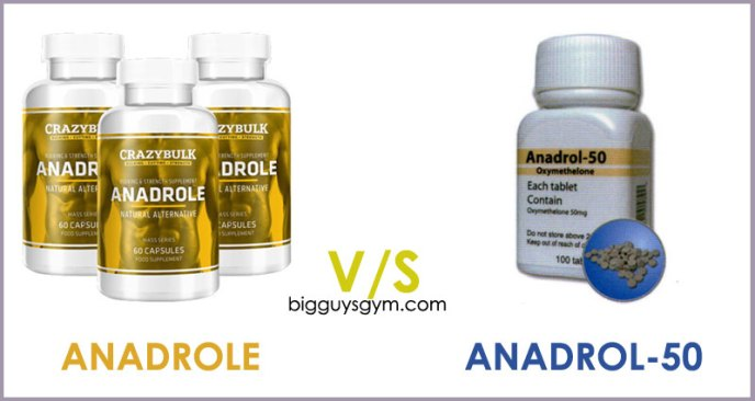 Anadrole vs Anadrol Oxymetholone steroids