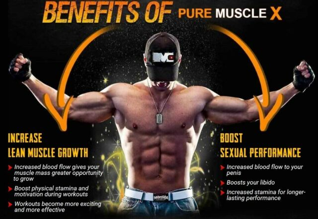 Benefits of Pure Muscle X