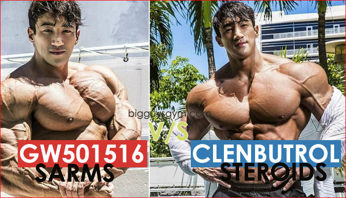 GW 501516 cardarine sarms vs Clenbuterol steroids