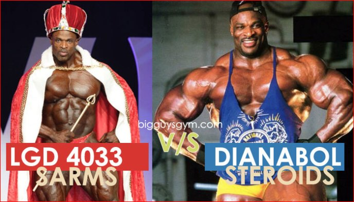 LGD Ligandrol 4033 sarms vs Dianabol Steroids
