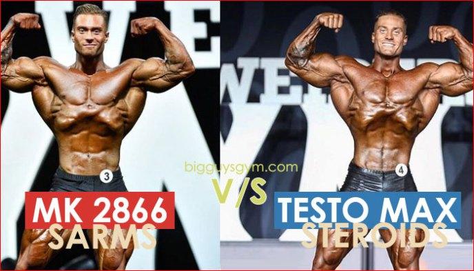 MK2866 Ostarine sarms vs Testo max steroids