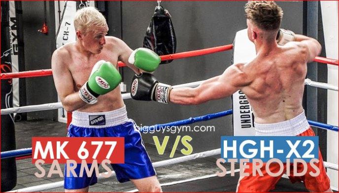 Mk 677 Ibutamoren sarms vs HGH X2 Steroids