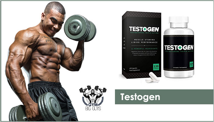 Testogen – Best Testosterone Booster Designed for Men in 2020