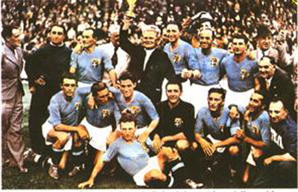 19 giugno 1938 l'Italia vince il secondo Mondiale di calcio