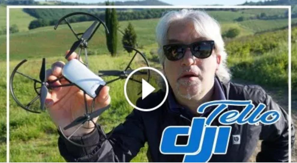 DJI Tello un drone che chiunque può guidare, economico (100 euro) e divertentissimo