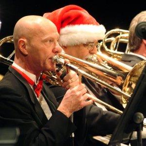 Dr. Ron Babcock at Christmas