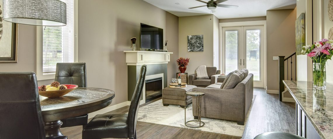 Townhome Living Area