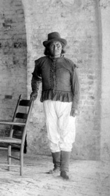 Geronimo-at-fort-pickens
