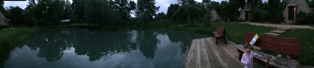 Lake at Geronimo Creek
