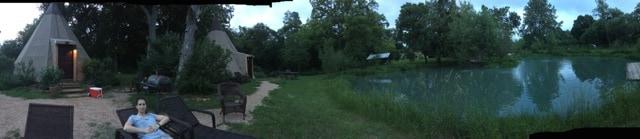 Tipi at Geronimo Creek