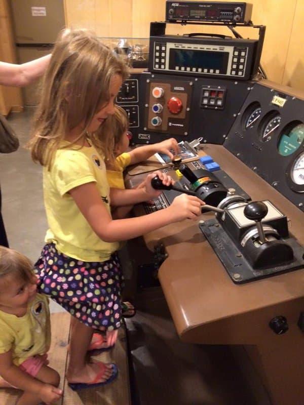 Rosenberg Railroad Museum Switches