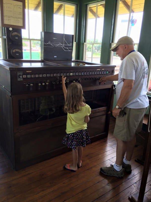 Rosenberg Railroad Museum Switches1