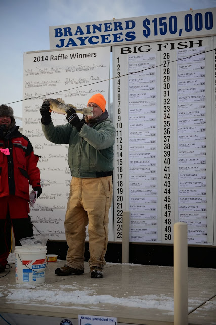 Brainerd Jaycees Minnesota Ice fishing Extravaganza
