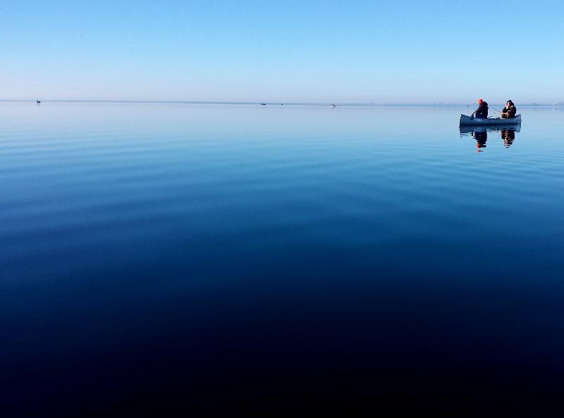 lake superior canoe fishing