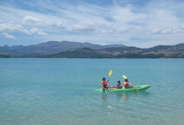 Bermejales kayaking