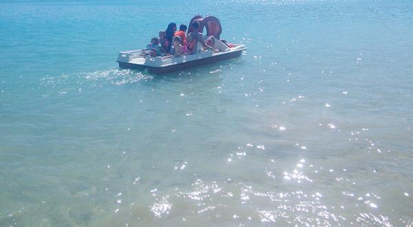 Bermejales pedal boats