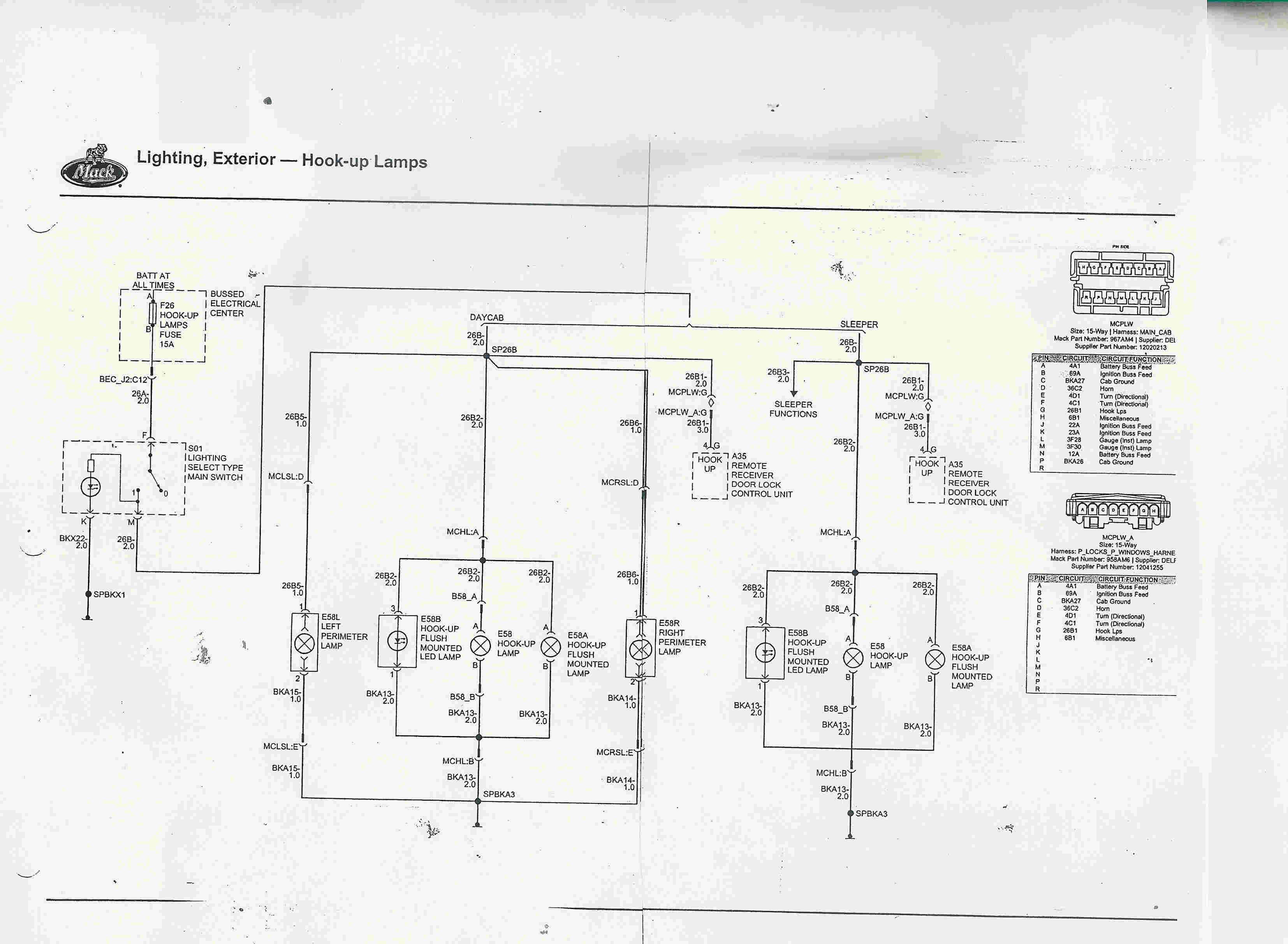 Mack Cxu613 Fuse Diagram Wiring Diagrams