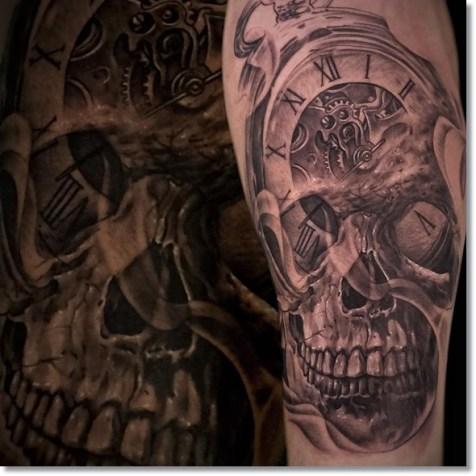 Skull-pocket-watch-tattoo-meaning