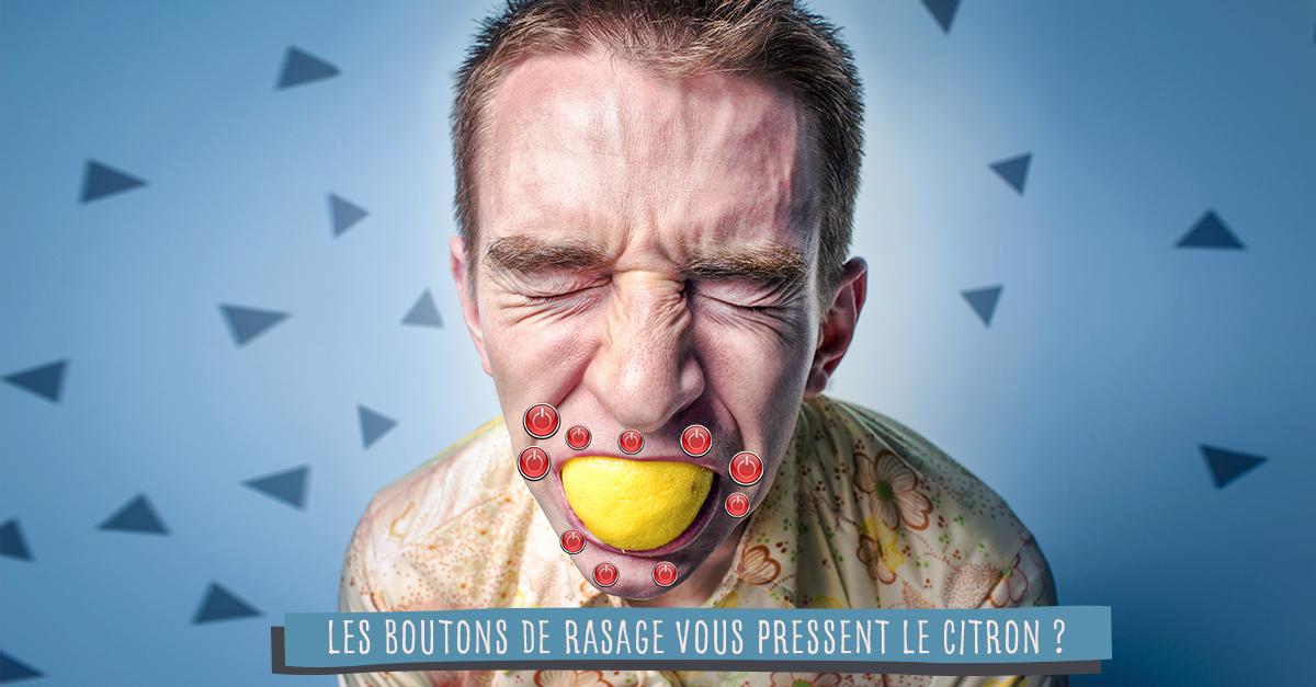 Évitez les boutons de rasage avec Big Moustache
