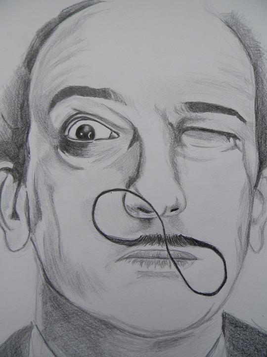Moustache Dalí Grand Huit