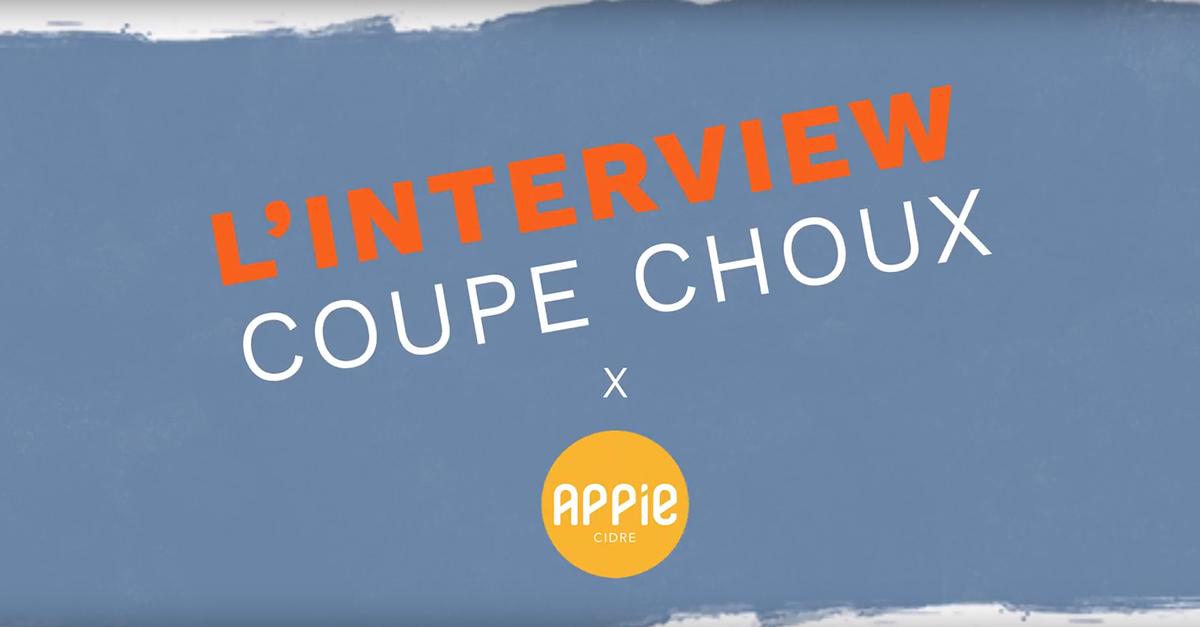 L'interview coupe-choux de Guillaume Laborderie - Appie