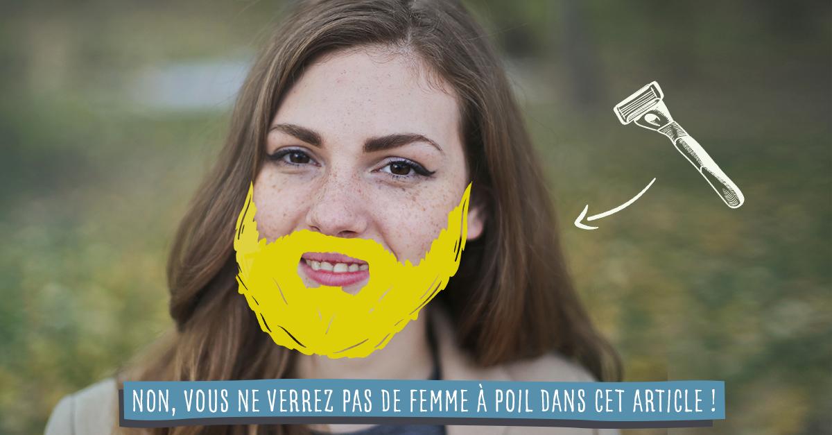 Pourquoi les femmes n'ont pas de barbe ?