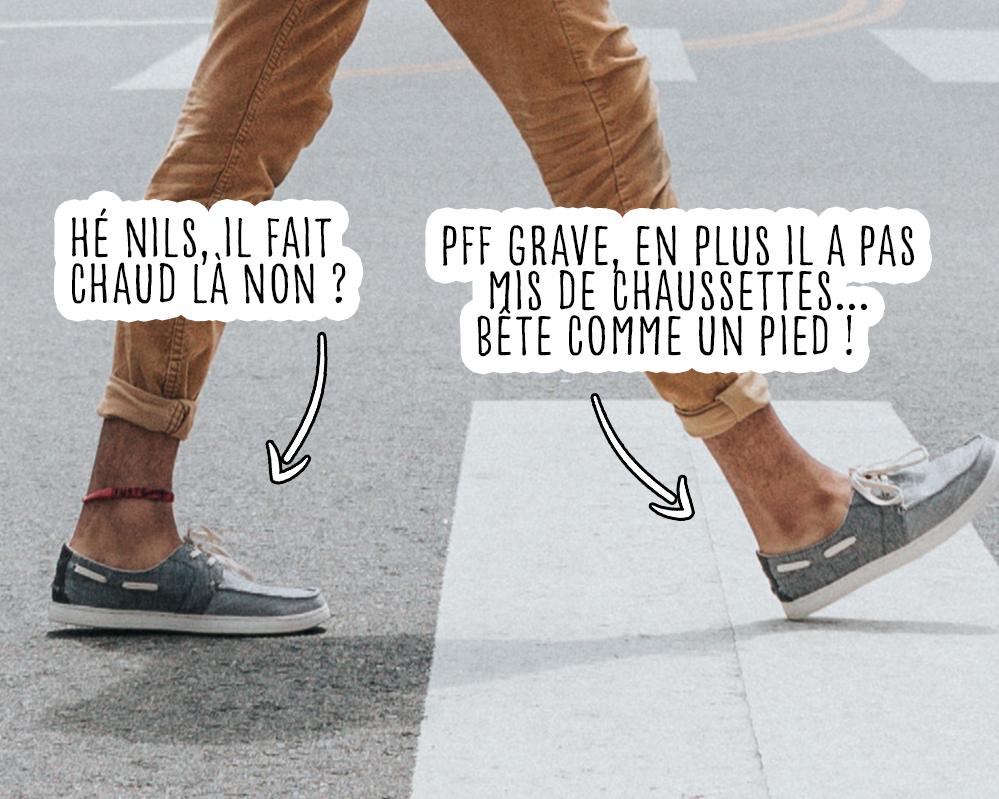 Odeurs pieds que faire ?