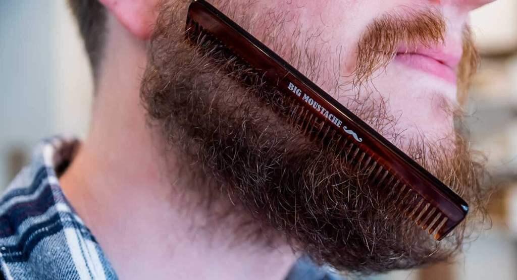 enlever nœuds dans la barbe