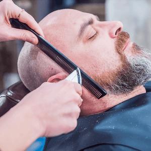 tailler ses pattes de barbe dégradé