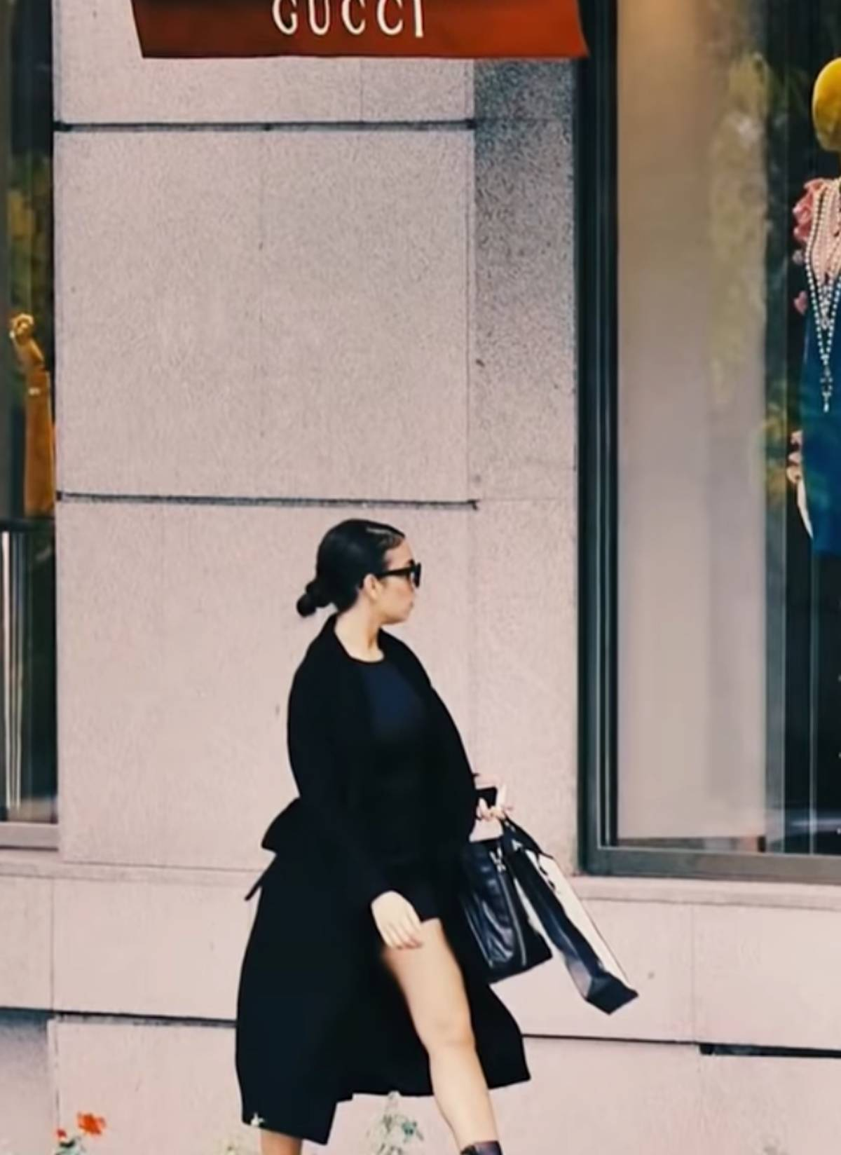 Georgina Rodrìguez a Gucci