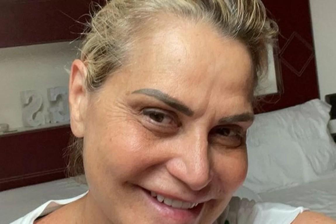 simona ventura without makeup