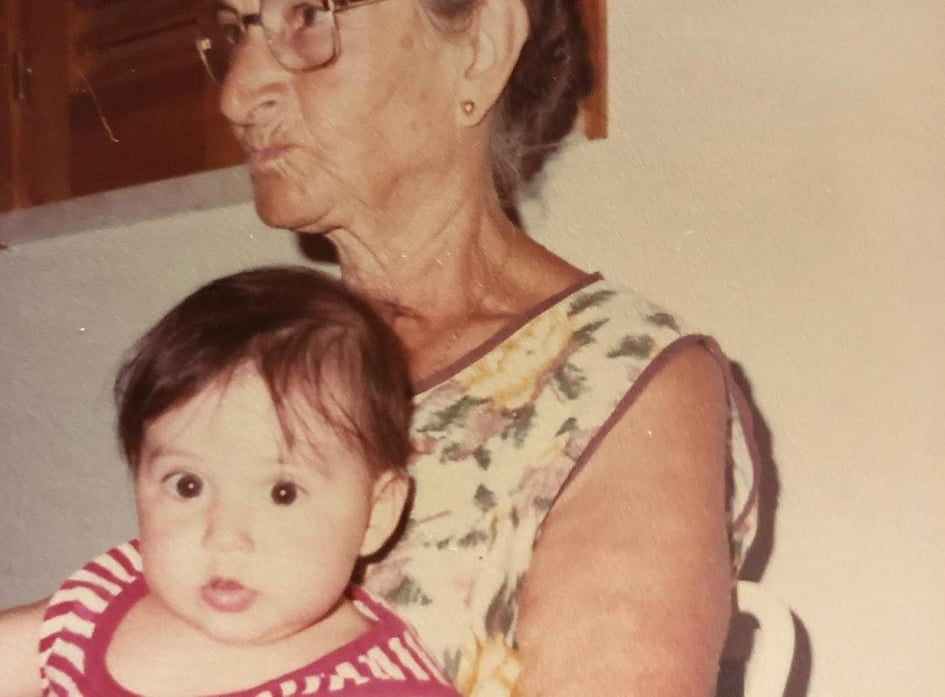 Flavia Pennetta's photo as a child