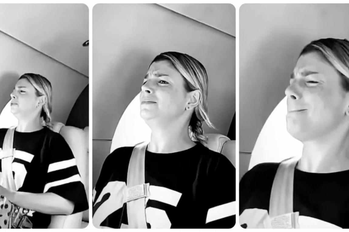 emma brown scared in flight