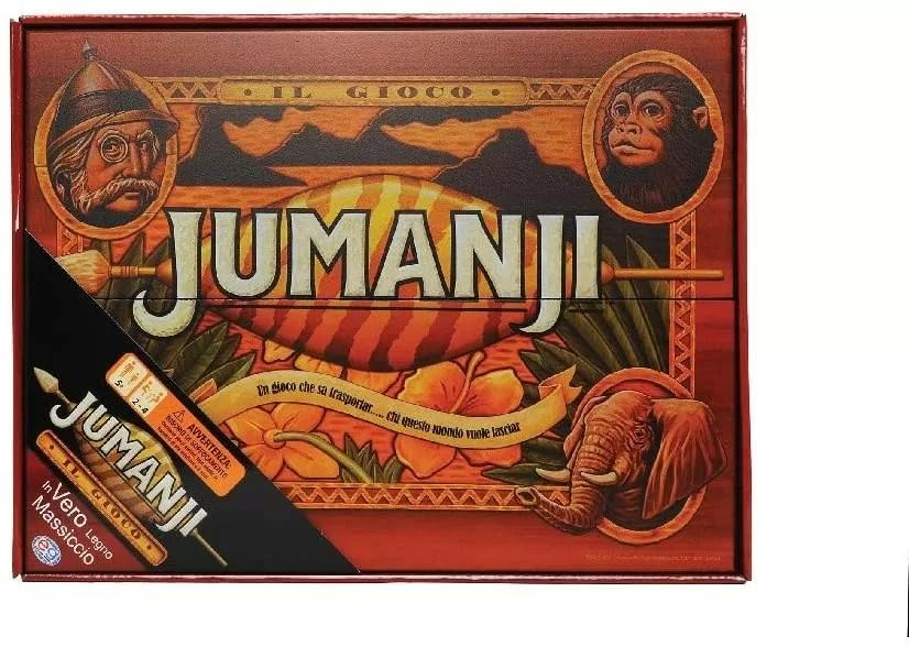 Jumanji wooden edition