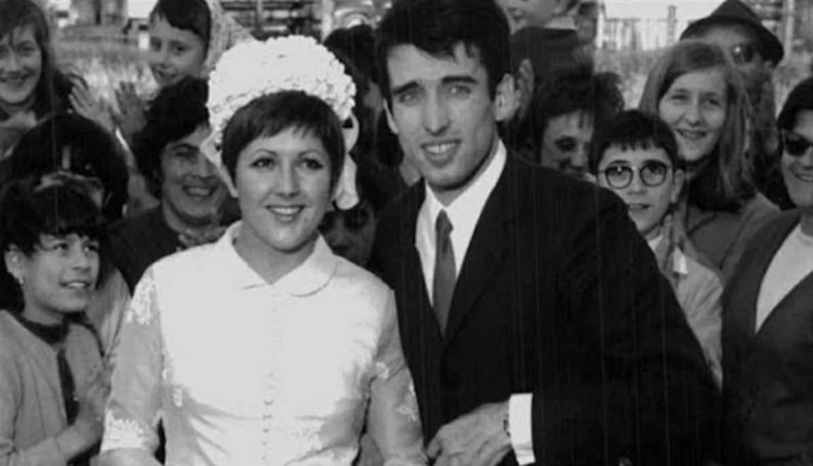 Orietta Berti: wedding photo