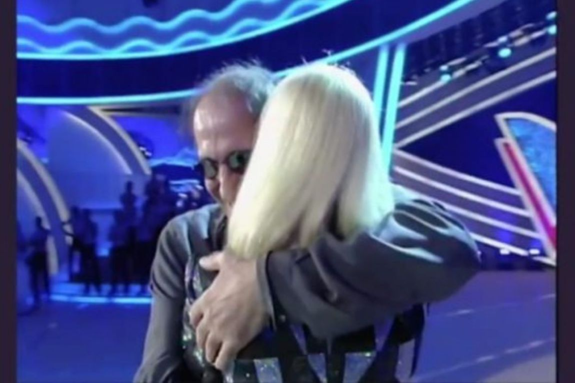 Adriano Celentano and Raffaella Carrà