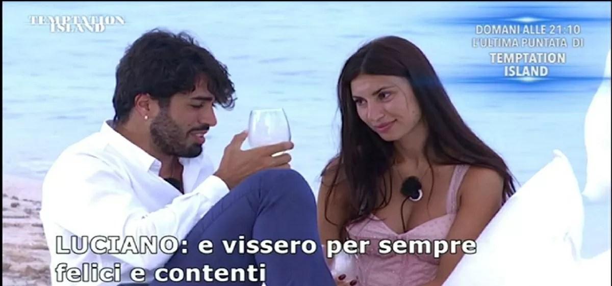 Temptation Island, Stefano attacks Manuela