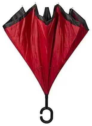 Umbrella with reverse opening Auto Reverse anti-drip