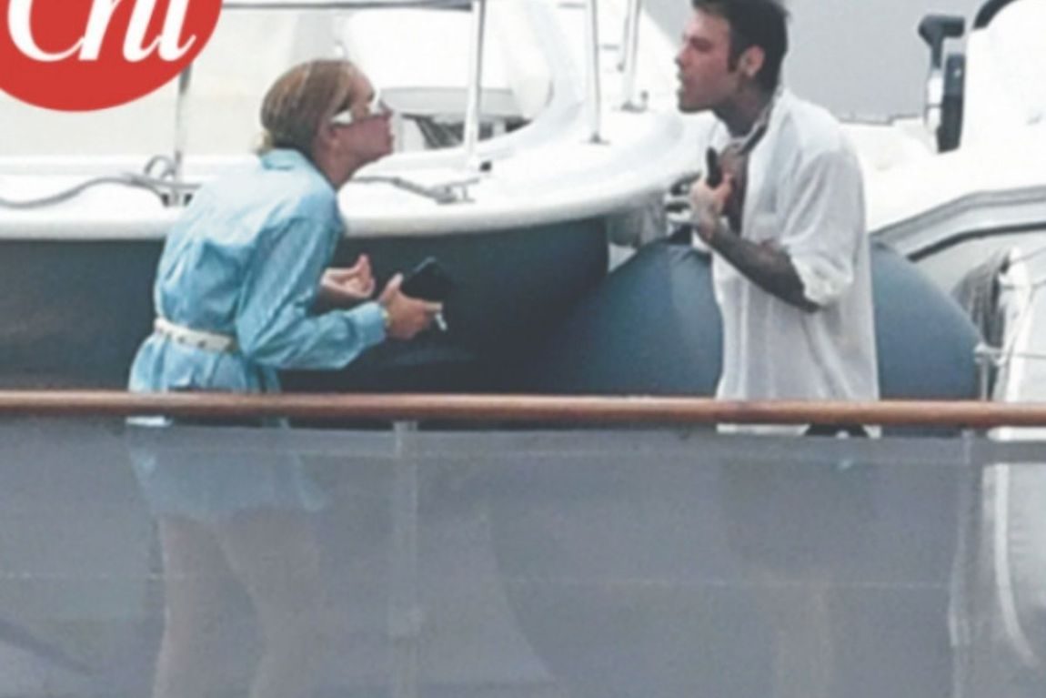 quarrel Fedez and Chiara Ferragni