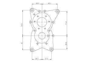 ROTO 130 FSI 130cc gas engine (hp, 4700gr)