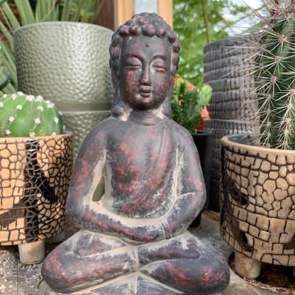 buddha statue, terra cotta