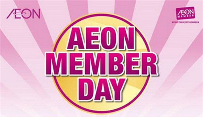 AEON-Member-Day-Sale